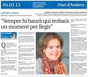 Contra Diari d Andorra 4.03.13