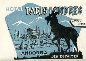 Etique Paris Londres 2