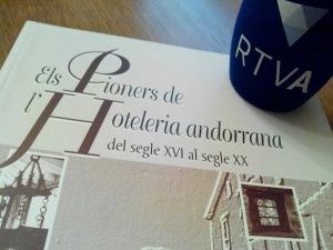 #Llibres & Company 20.09.2015 #  Hotel des Cimes # Els pioners de l'hoteleria andorrana