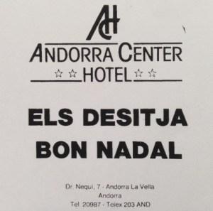 16. Andorra center