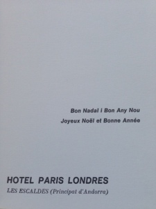 2.1. Hotel Paris Londres 2