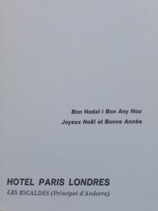 2.1. Hotel Paris Londres 2