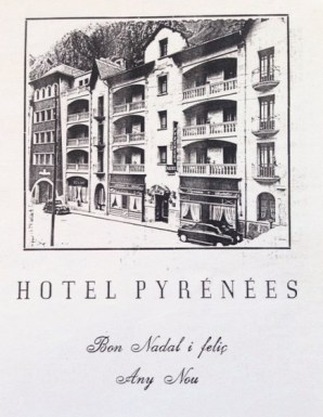 8. Hotel Pyrenees 1961