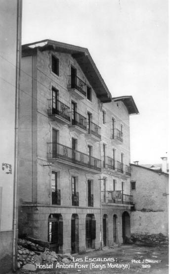 Hotel Muntanya edifici