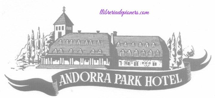 Dibuix Andorra Park Hotel-llibreriadepioners