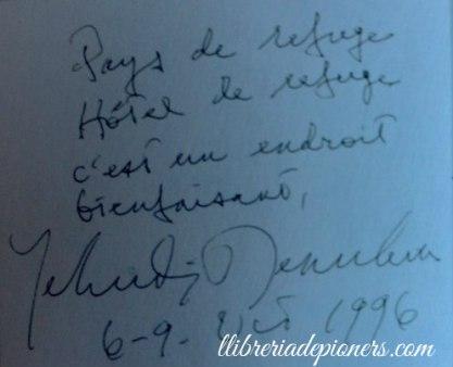 Yehudi Menuhin-llibreriadepioners