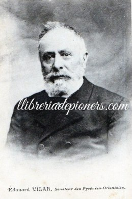 Eduard Vilar senateur-llibreriapioners